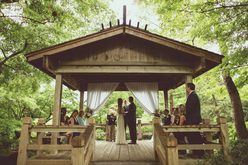 Molly Davids Fort Worth Botanic Japanese Gardens Wedding AFB