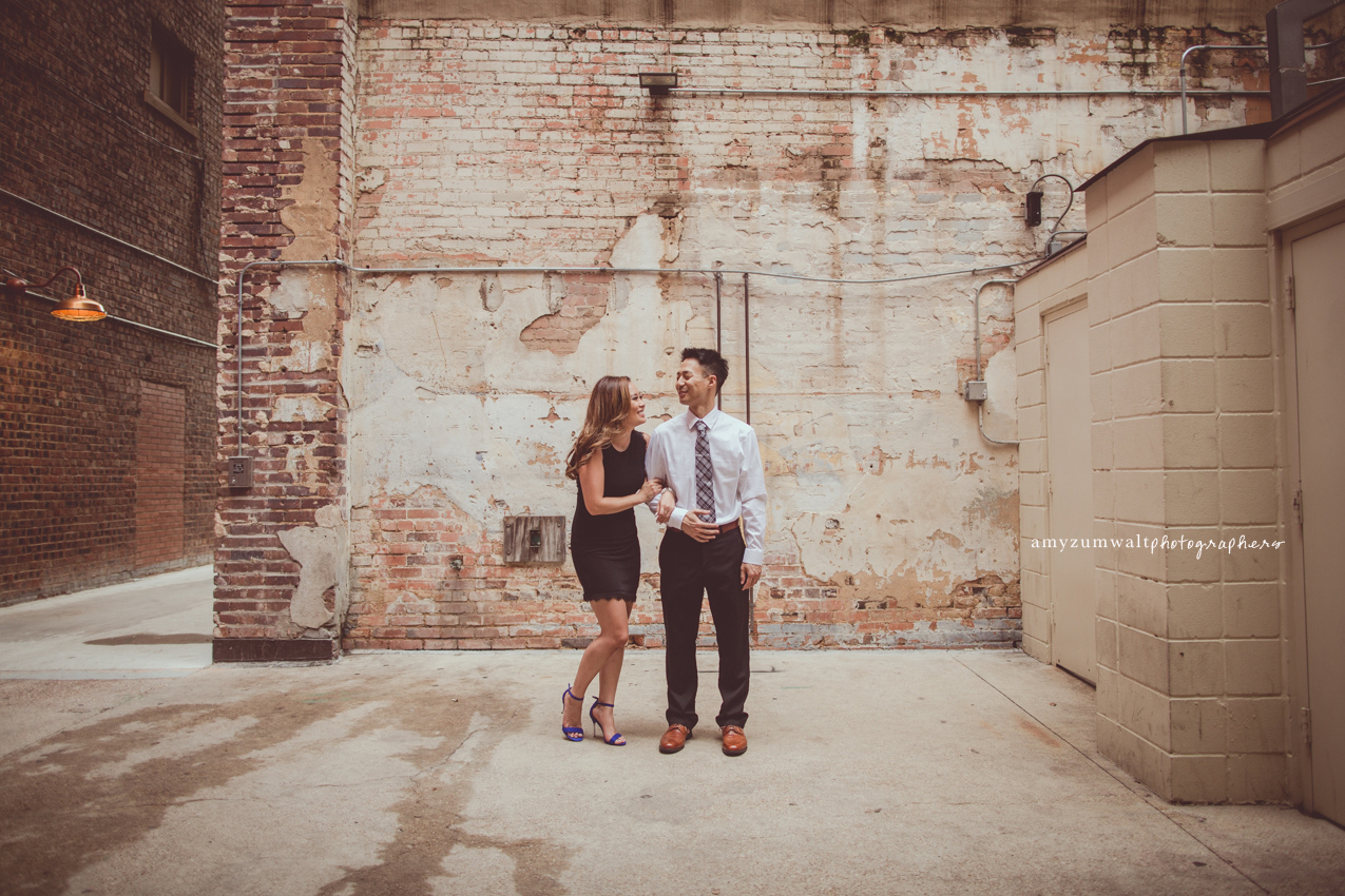 Mina Daniel Engagement Session Fort Worth Water Gardens And Sundance Square Amy