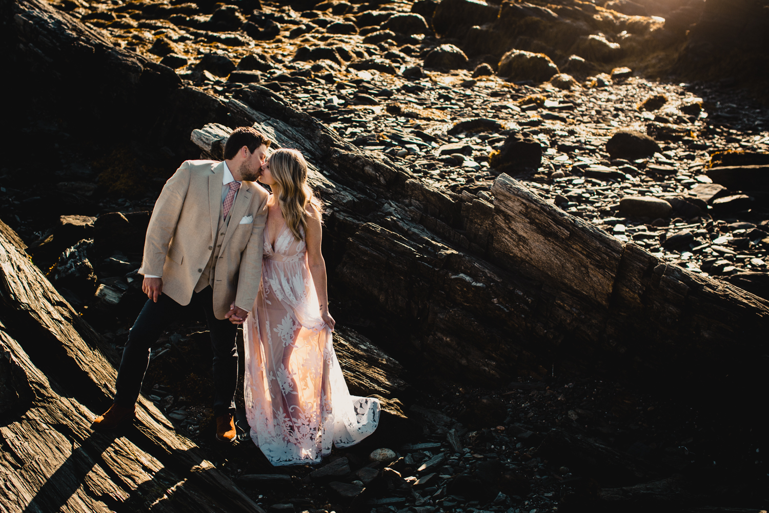 Cape Elizabeth Adventure Session :: Maine Wedding